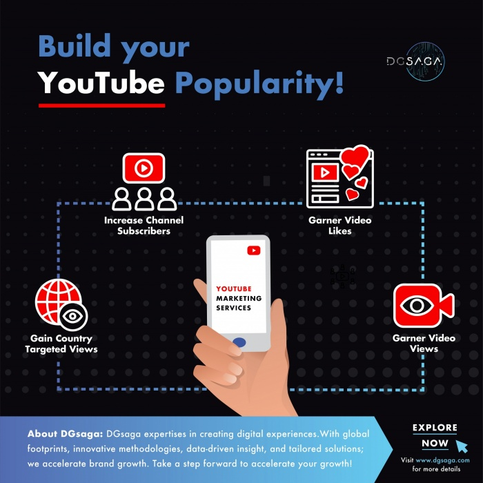 Build your YouTube Popularity!