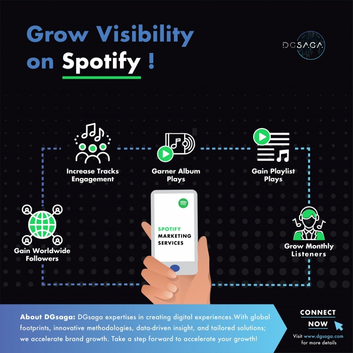 Grow visibility on Spotify